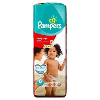 PAMPERS Easy Up Géant T6 15Kg et + x38 couches