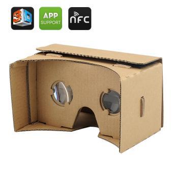 Diy 3d Google Cardboard Glasses Mobile Phone Virtual