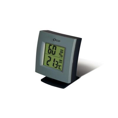 Otio Thermomètre/Hygromètre - intérieur alu bleuté 936181 / hh-22