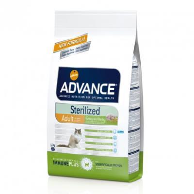 Advance chat sterilized dinde - 1,5 kg