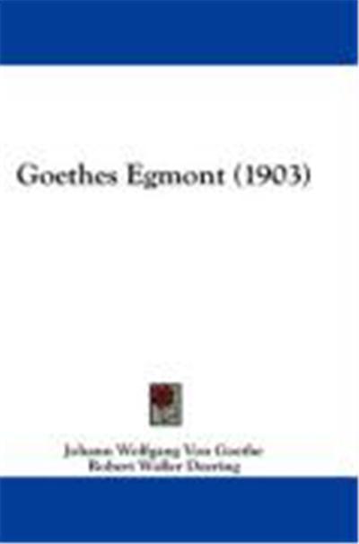 Goethes Egmont (1903)