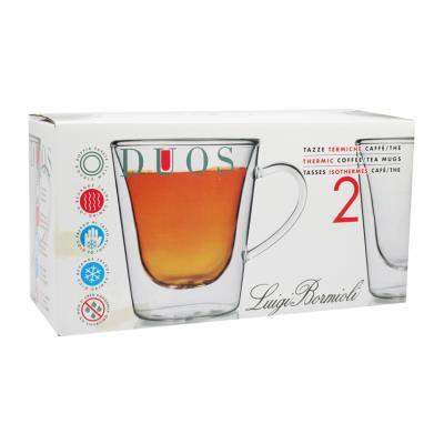 Lot de 2 mugs 29,5 cl Duos Luigi Bormioli 1615501