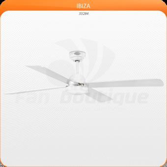 Ventilateur de plafond moderne 132 cm blanc faro IBIZA 33284