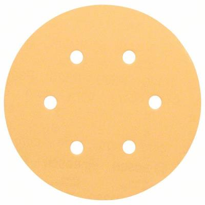 Lot De 50 Disques Abrasifs Best For Wood Ø150Mm 6 Trous Gr 220 Bosch 2608621003