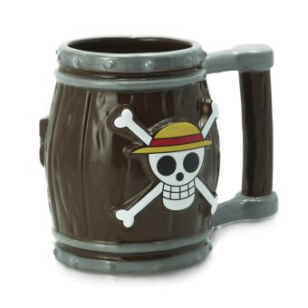 Taza 3D One Piece - Barril