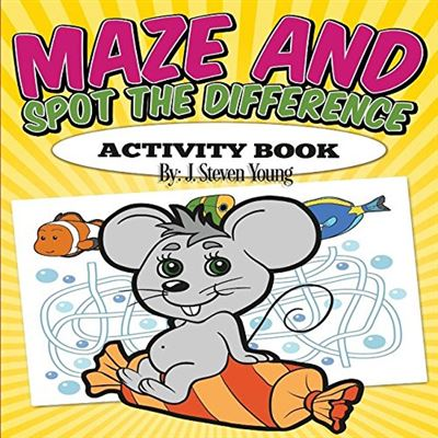 Maze And Spot The Difference Activity Book