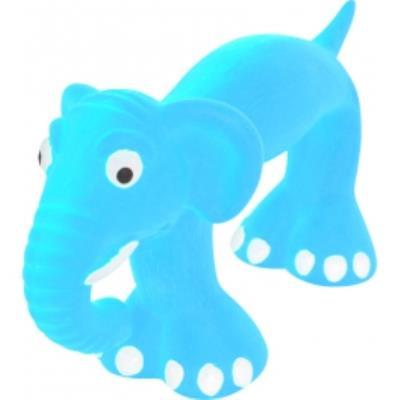 Jouet latex slim 22cm bleu taille
