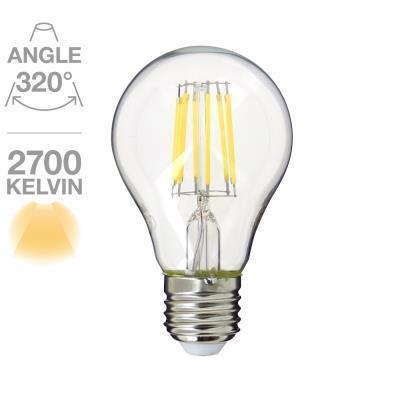 Standard A60 RetroLed 700 lumens E27 6W équivalent à 55W