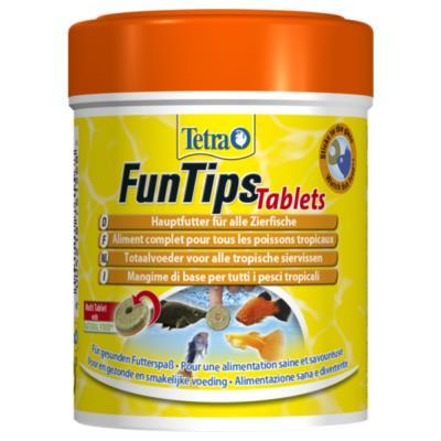 Tetra - Aliment Complet FunTips Tablets de 165 Tablettes pour Poissons Tropicaux