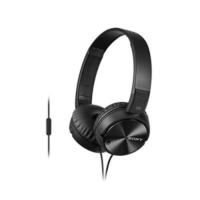 SONY Casque Sony Mdrzx110 noir Micro Jack 3,5mm anti bruit