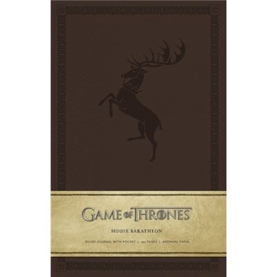 Game Of Thrones Ruled Journal: House Of Baratheon (Diary)