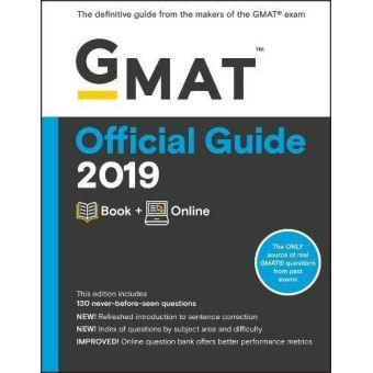 GMAT Official Guide 2019: Book + Online (Gmat Official Guides) - [Version Originale]