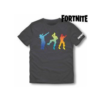 T shirt à manches courtes enfant Fortnite 75056 Noir Taille 12 ans