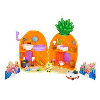 Ananas Bob L Éponge bob l'eponge – playset maison ananas – décor + figurine – 25 pièces