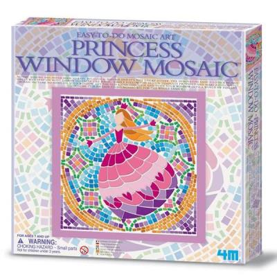 Mosaique Princesse 26 x 26 cm Kit Jeux de loisirs créatifs pour Enfants 7 ans +
