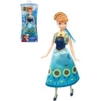 mattel disney la reine des neiges une fte givre anna fete danniversaire poupe mannequin achat prix fnac - Barbie Reine Des Neiges