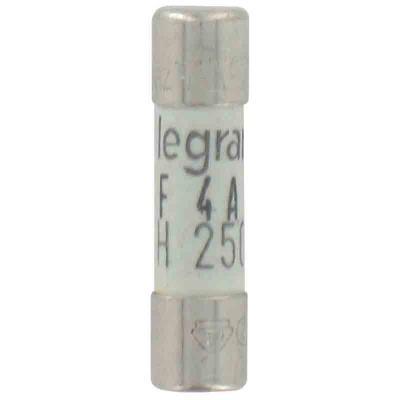 Legrand cartouche fusible pour appareils électroniques 4a 920w 5x20 mm 1068577
