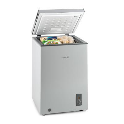 Klarstein Iceblokk Congélateur coffre 100 litres 75W - Classe énergétique A+ - gris
