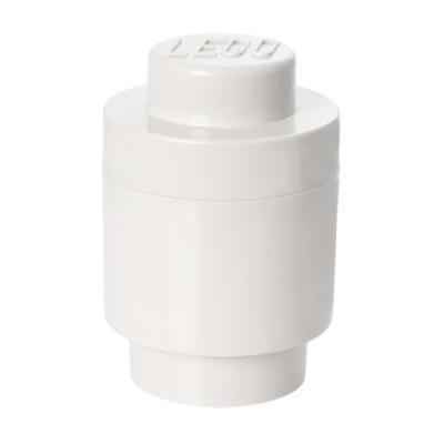 Room copenhagen rc40301735 lego boîte de rangement ronde 1 brique plastique blanc 45 x 35 x 25 cm