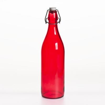 Bormioli - Bouteille Limonade 1L Rouge