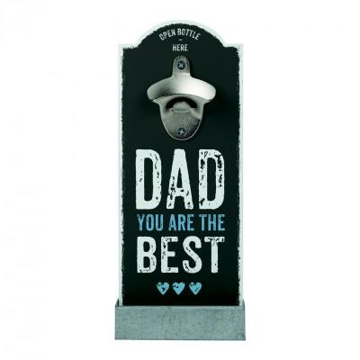 """Contento - Décapsuleur mural Dad you are the best"""""""""""