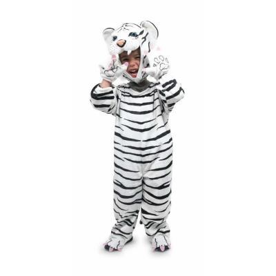 Déguisement pour enfant du tigre blanc Thiago