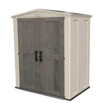 CHALET&JARDIN - Abri de jardin PVC aspect bois 2m2 - Mobilier de ...