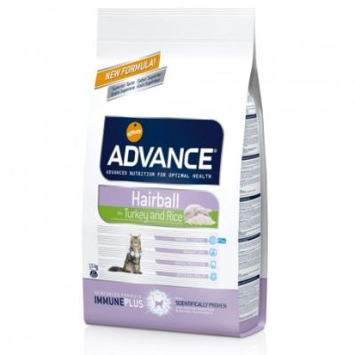 Advance chat adult hairball - 1,5 kg