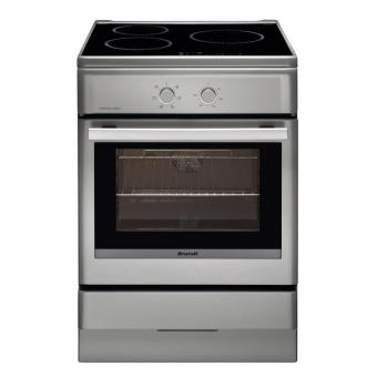 Brandt Bci6640t Cuisiniere 60cm Four Multifonction Catalyse Table