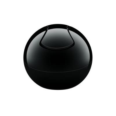 Spirella 10.15139 bowl poubelle polystyrol uni 1 l noir