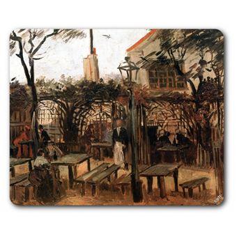 Vincent Van Gogh Tapis De Souris Terrasse Du Café La Guinguette à Montmartre 1886 19x23 Cm