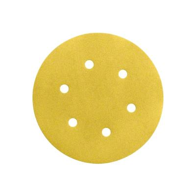 Lot De 50 Disques Abrasifs Velcro Grain 80 Ø150Mm 6 Trous Bosch 2608621017