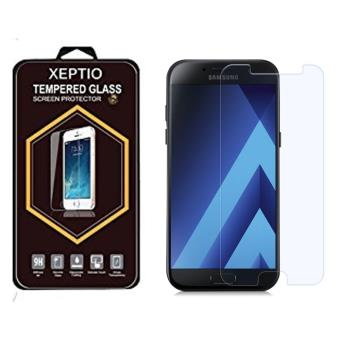 samsung galaxy a3 2017 protection d 39 cran en verre tremp tempered glass screen protector 9h. Black Bedroom Furniture Sets. Home Design Ideas