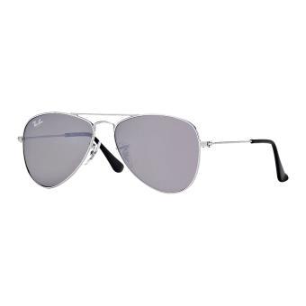 1257888b5dee2 Ray-ban aviator junior argent brillant gris miroité argent - Lunettes -  Achat   prix