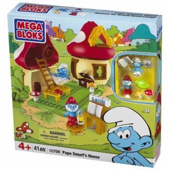 Mega bloks jeu de construction maison de grand schtroumpf micro autres jeux de construction - Schtroumpf maison ...