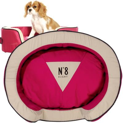 Corbeille Pour Chien Number Framboise XS