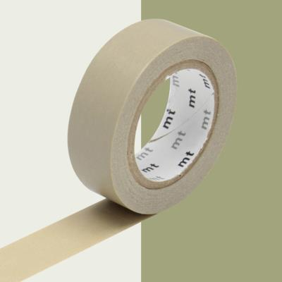 Masking Tape MT - 15 mm - Uni beige - Masking Tape (MT)
