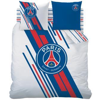 PSG Housse de Couette Bleue 100/% Coton