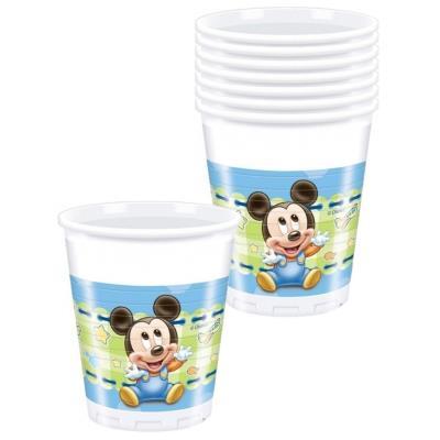 Gobelets Mickey bébé (x8)
