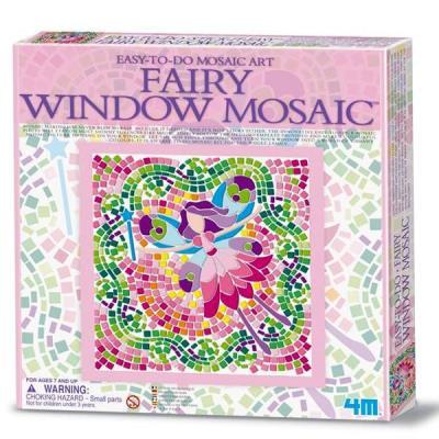 Mosaique Fée 26 x 26 cm Kit Jeux de loisirs créatifs Enfants 7 ans +
