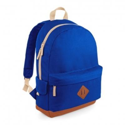 Sac à dos loisirs style rétro Heritage Backpack - BG825 - bleu roi