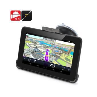 gps 7 pouces android 4 4 cran tactile transmetteur fm 32gb micro sd autoradio achat. Black Bedroom Furniture Sets. Home Design Ideas