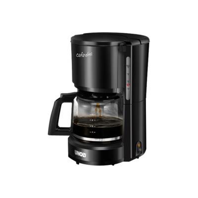 UNOLD Compact 28125 - Cafetière - 10 tasses - noir brillant