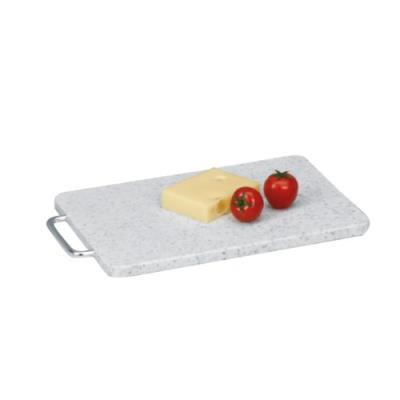 Zeller 26031 planche à découper en plastique poignée chromée 20 x 1,2 x 28 cm