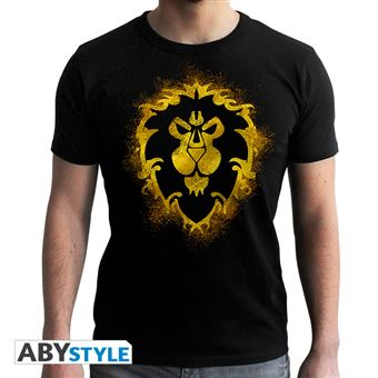 Camiseta World Of Warcraft - Alianza Negro XL