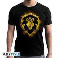 Camiseta World Of Warcraft - Alianza Negro XL
