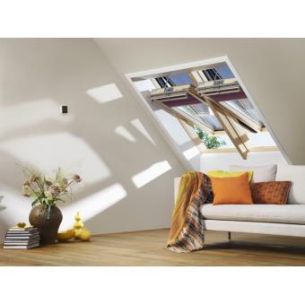 fen tre de toit lectrique velux integra gamme confort. Black Bedroom Furniture Sets. Home Design Ideas