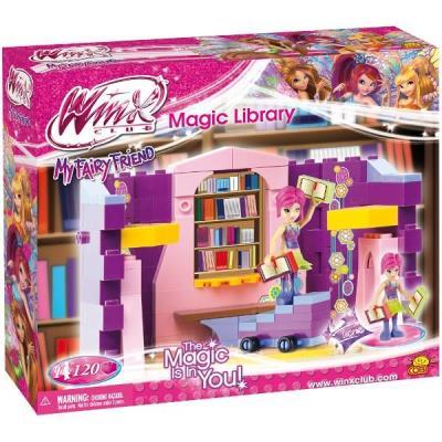 Cobi Winx Club - 25121 - Tecna Magic Library (Bibliotheque Magique De Tecna)