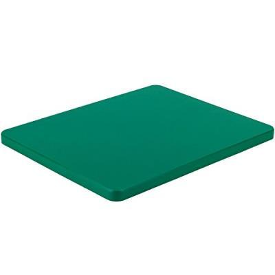 Kesper 30144 planche à découper de légumes plastique vert 32,5 x 26,5 x 1,5 cm