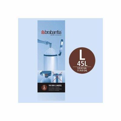 Brabantia - 371547 - Rouleau de Sacs Poubelle - 45 L - 10 Sacs par Rouleau